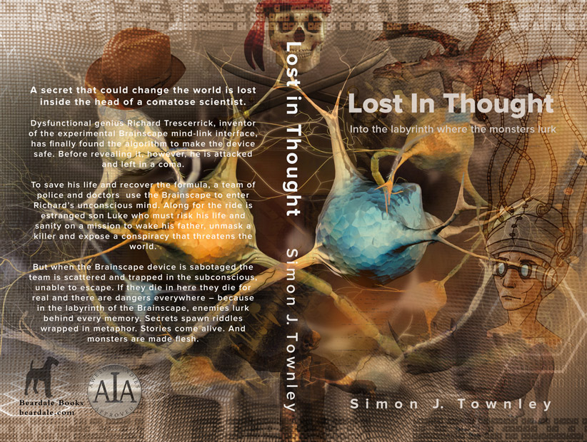 'Lost In Thought' print cover