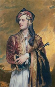 Lord Byron, poet, romantic and adventurer
