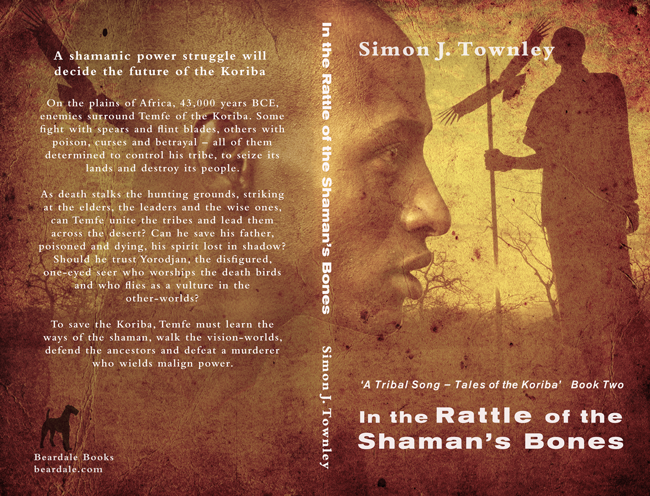 Print cover of 'In the Rattle of the Shaman's Bones'