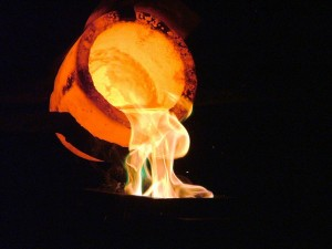 Picture of a crucible