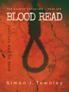 cover of Blood Read - a novel about a serial killer who stalks the London book-world