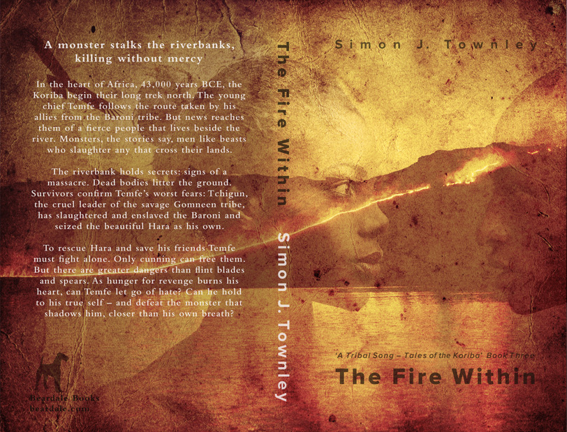 The Fire Within - book 3 in the Koriba series. Print cover