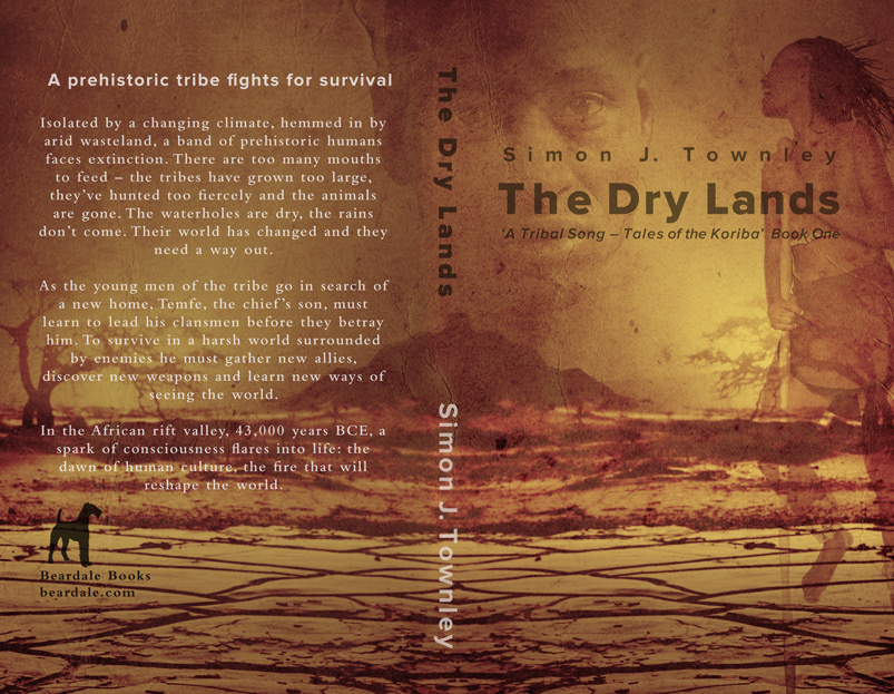 'The Dry Lands' - book one in the series. Print cover